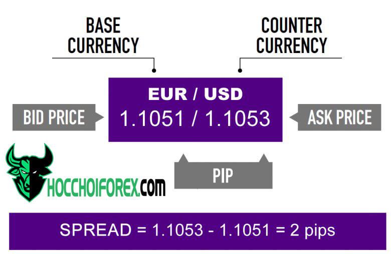 Tìm hiểu spread là gì và vai trò của nó trong trading forex