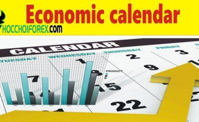 Lịch kinh tế là gì trong Forex? Hướng dẫn xem lịch kinh tế tại investing chính xác